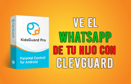 Como Ver el WhatsApp de mi Hijo con Clevguard