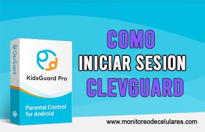 cComo iniciar sesión con Clevguard